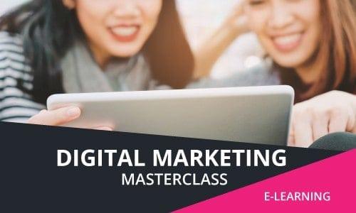 e learning online marketing