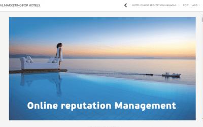 Online διαχείριση κριτικών ξενοδοχείου