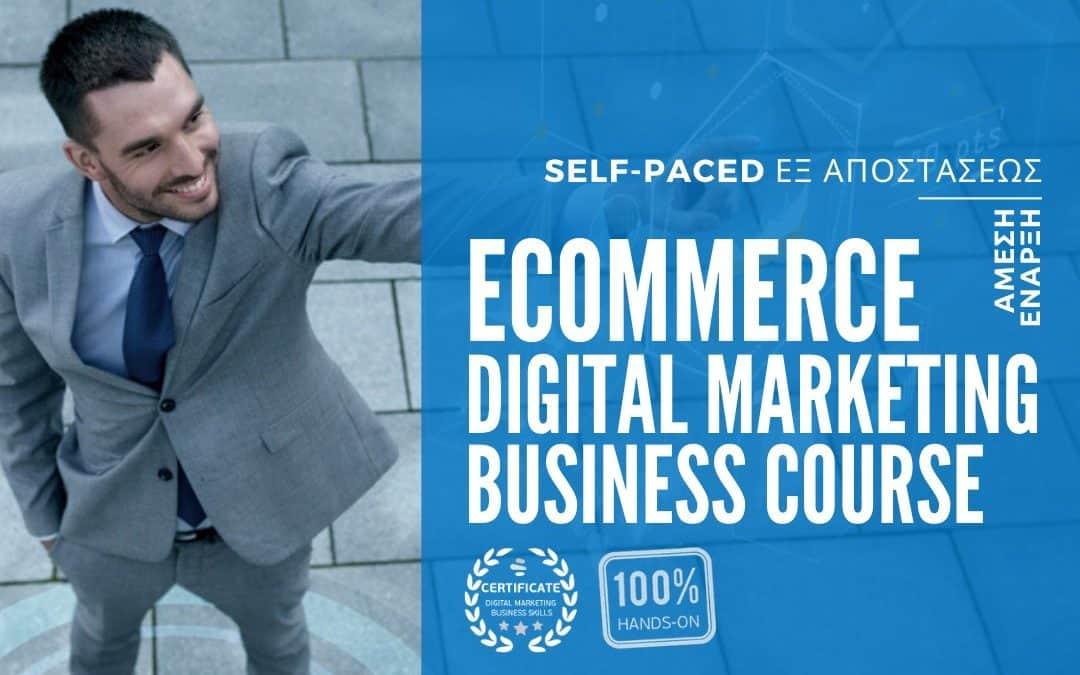 eCommerce Digital Marketing Business Course