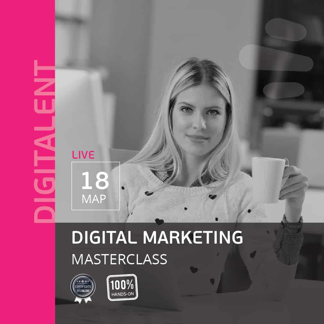 seminaria digital marketing webinar