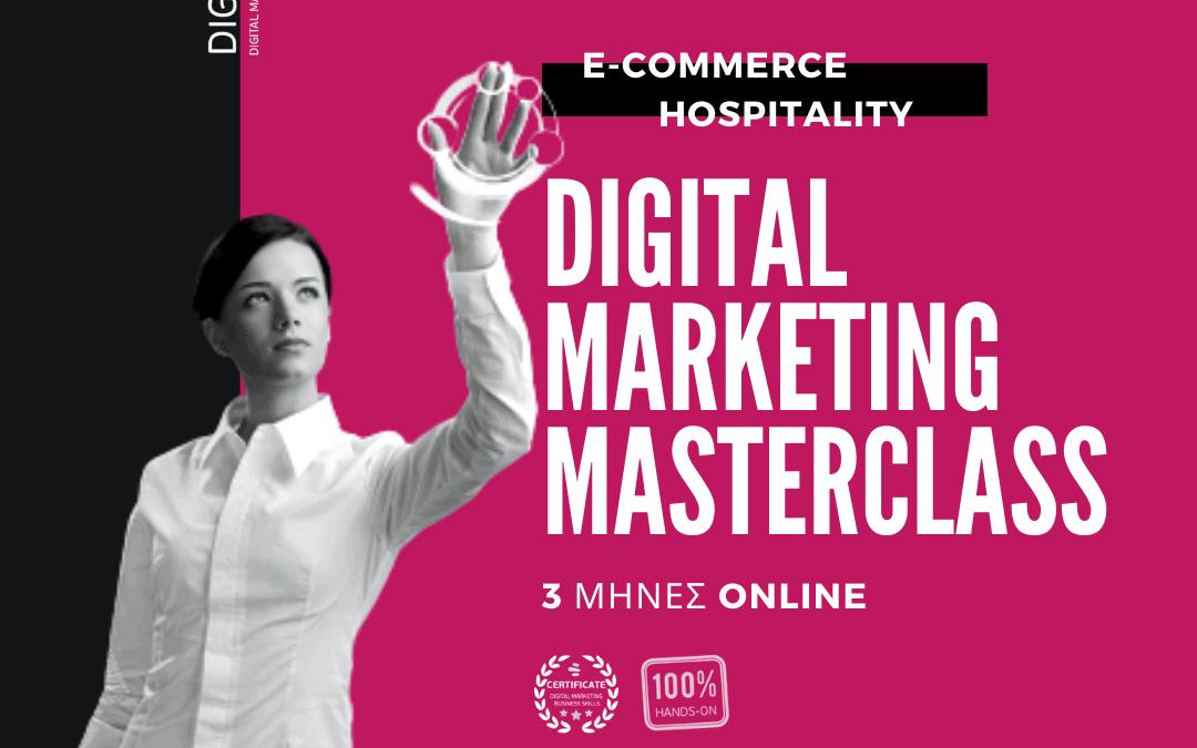 ECOMMERCE & HOSPITALITY Digital Marketing MASTERCLASS