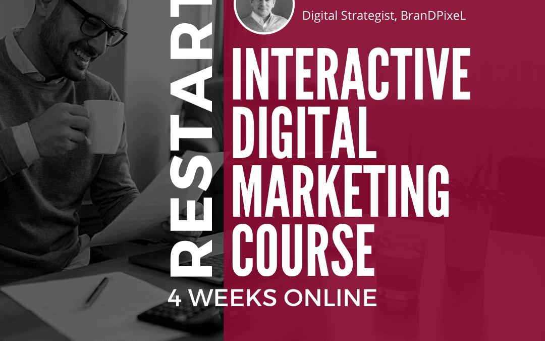 RESTART: Interactive Digital Marketing Course