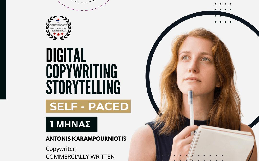 Copywriting & Digital Storytelling course